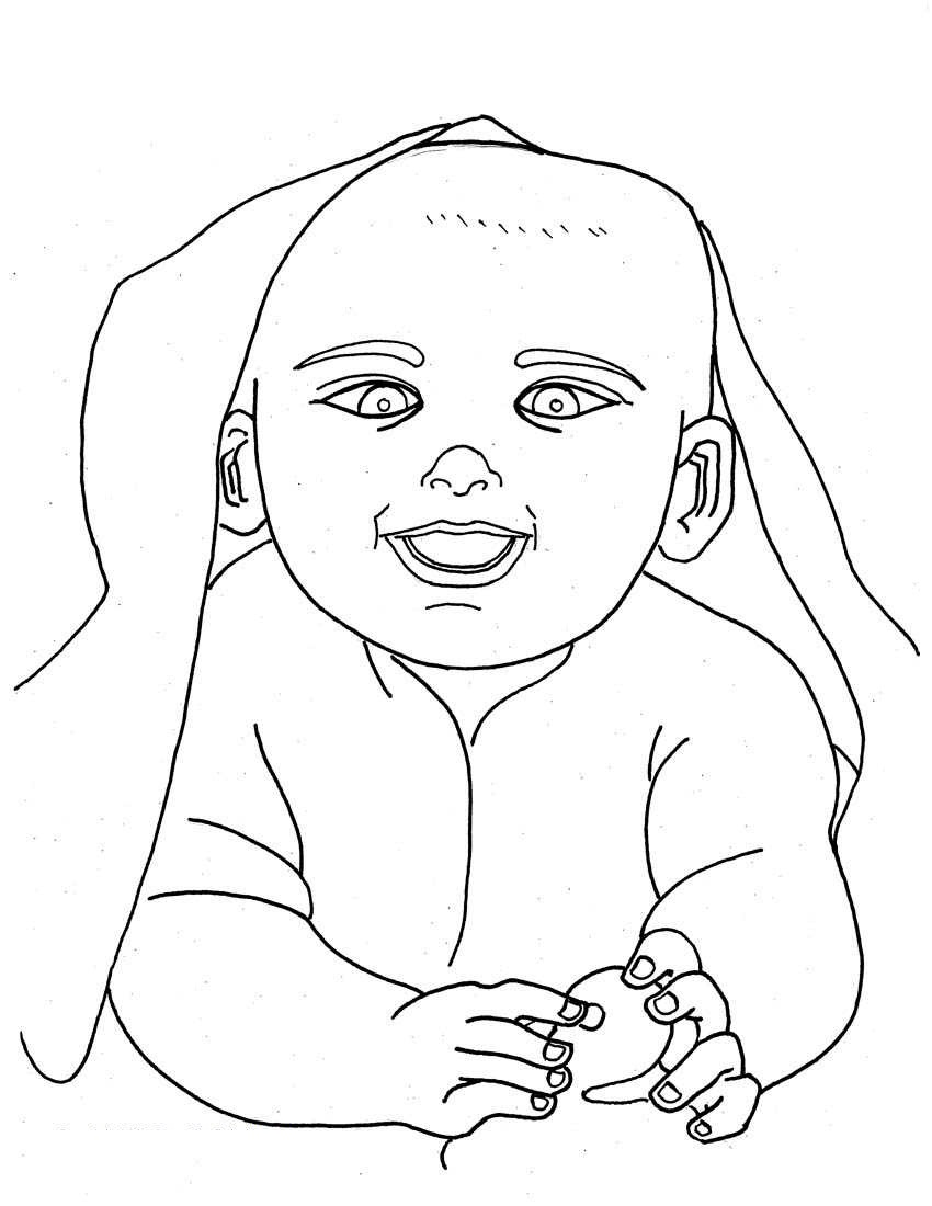free printable baby coloring for kids babies faries quill color intensity scale wonder coloring pages Babies Coloring Page