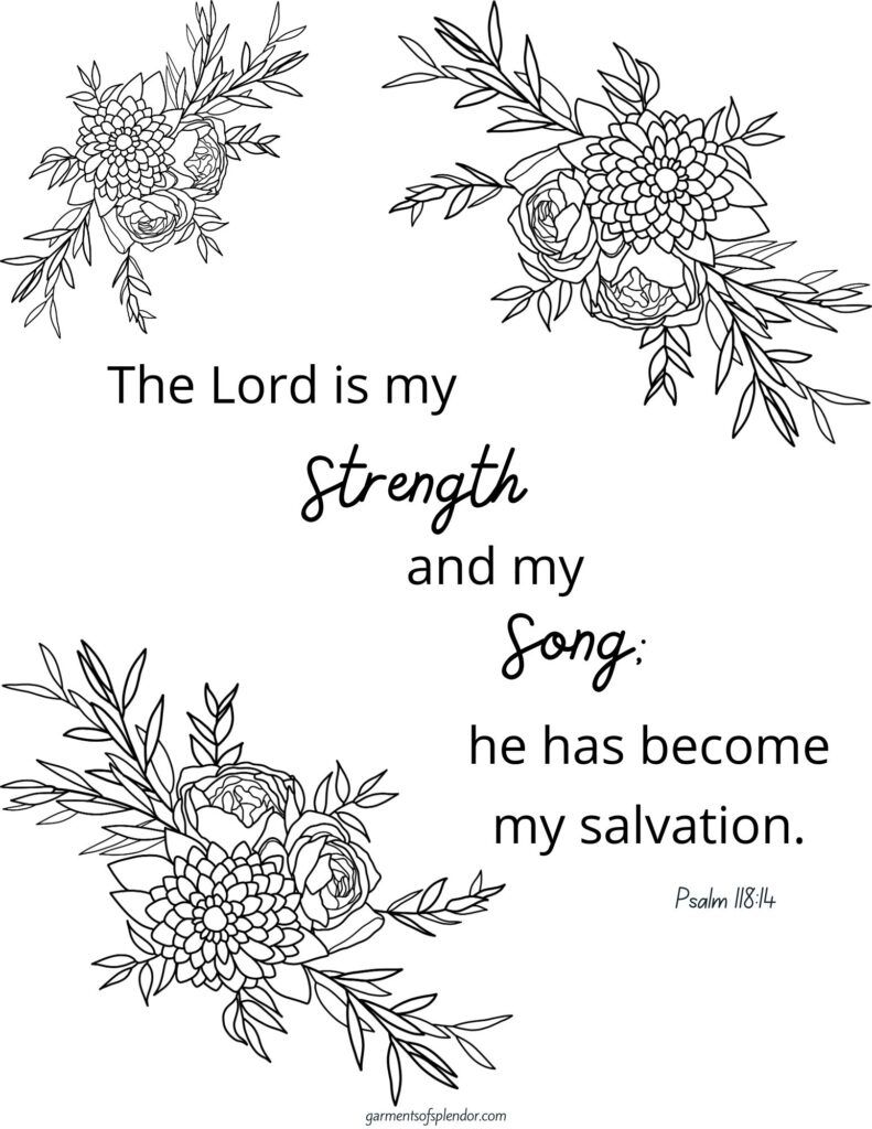 free printable bible verse coloring the joy of lord is my strength psalm 791x1024 magic coloring pages The Joy Of The Lord Is My Strength Coloring Page
