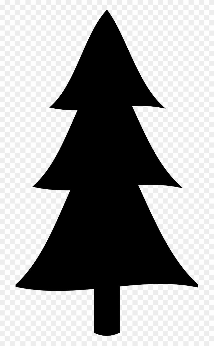 free printable christmas stencils simple tree silhouette clipart pikpng model tool kit coloring pages Free Printable Christmas Stencils