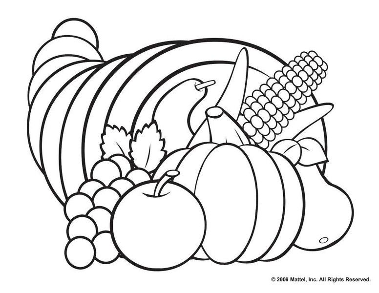 free printable cornucopia coloring home nieykb9kt floor remove vinyl and paint coloring pages Coloring Page Cornucopia