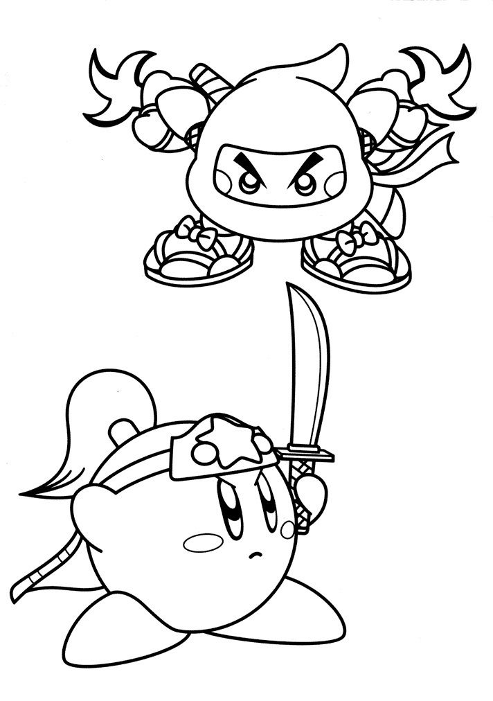 free printable kirby coloring for kids artofit cursice letters cactus dry eras emarker coloring pages Kirby Coloring Page