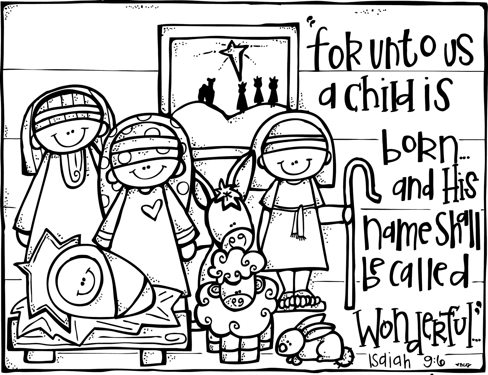 free printable nativity coloring for kids manger pictures remove paint from mirror coloring pages Manger Coloring Page