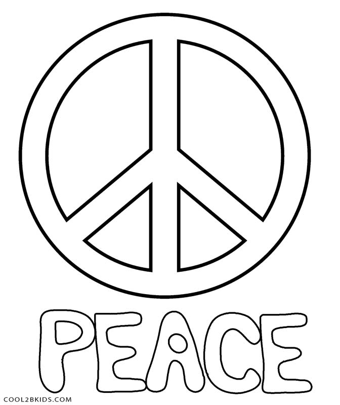free printable peace sign coloring paper swan origami kwanzaa sheets afult easter gifts coloring pages Peace Coloring Page