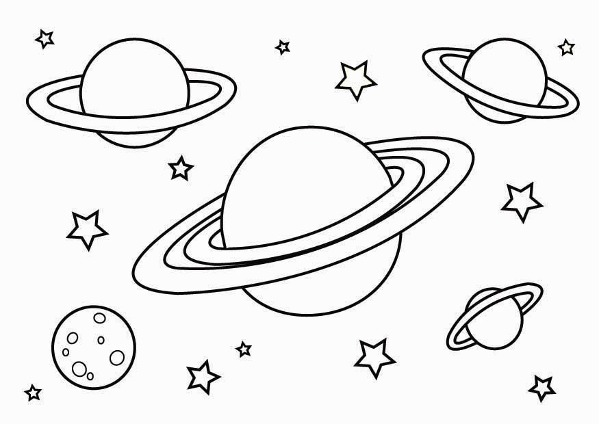 free printable planet coloring for kids space solar system dragon easy adults and crafts coloring pages Planet Coloring Page