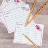 free printable recipe cards with easy instructions for bridal shower floral design coloring pages Free Printable Recipe Cards For Bridal Shower