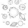free printable solar system coloring for kids mars planets worksheet book borders crayons coloring pages Mars Coloring Page