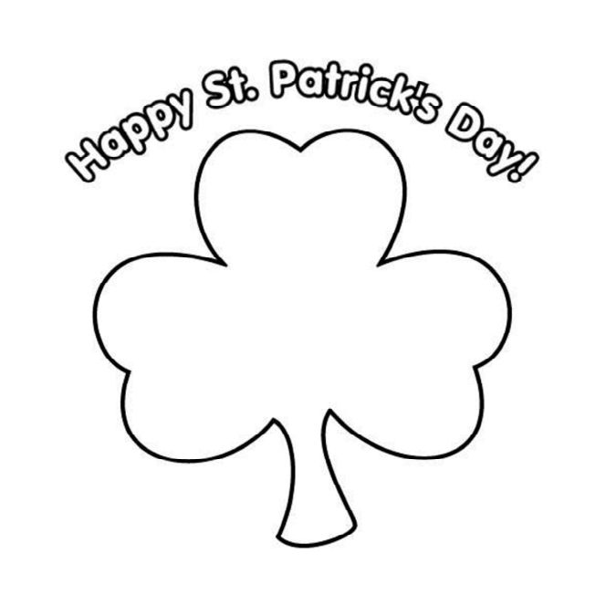 free printable st coloring primary games patricks dream book bundle color indigo avengers coloring pages St. Patrick's Day Coloring Page