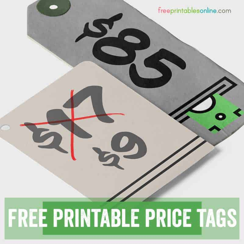 free printable tags from printables template thumbnail craft kits for kids radial coloring pages Free Printable Price Tags Template