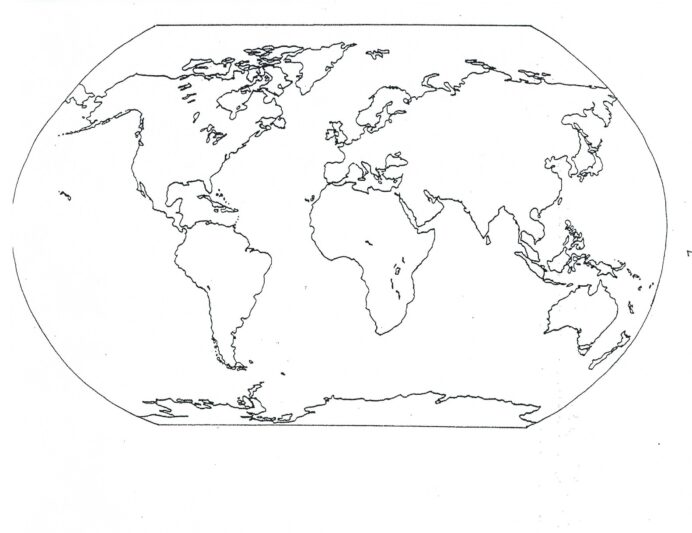 free printable world map coloring for kids best with countries crayon sets school agers coloring pages World Map Coloring Page With Countries