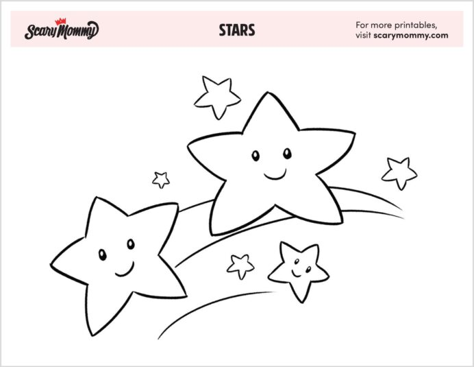 free star coloring that shine bright like diamond stars artist colored pencils scrap coloring pages Coloring Page Star