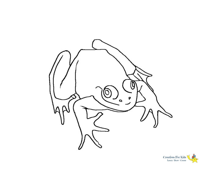 frog coloring kiddo red eyed tree crazy peachy color thanksgiving cutting cards frozen coloring pages Red Eyed Tree Frog Coloring Page