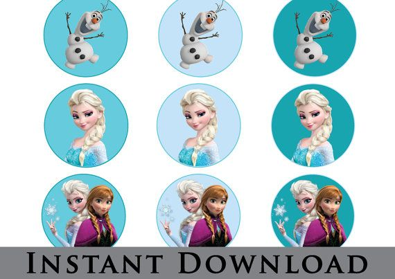 frozen cupcake toppers instant cupcakes disney cake pops free printable coloring horse coloring pages Frozen Cupcake Toppers Free Printable
