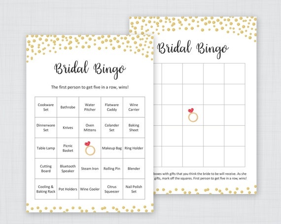 gold bridal shower bingo printable cards unique prefilled etsy free il 570xn fpd3 thank coloring pages Bridal Shower Bingo Cards Free Printable