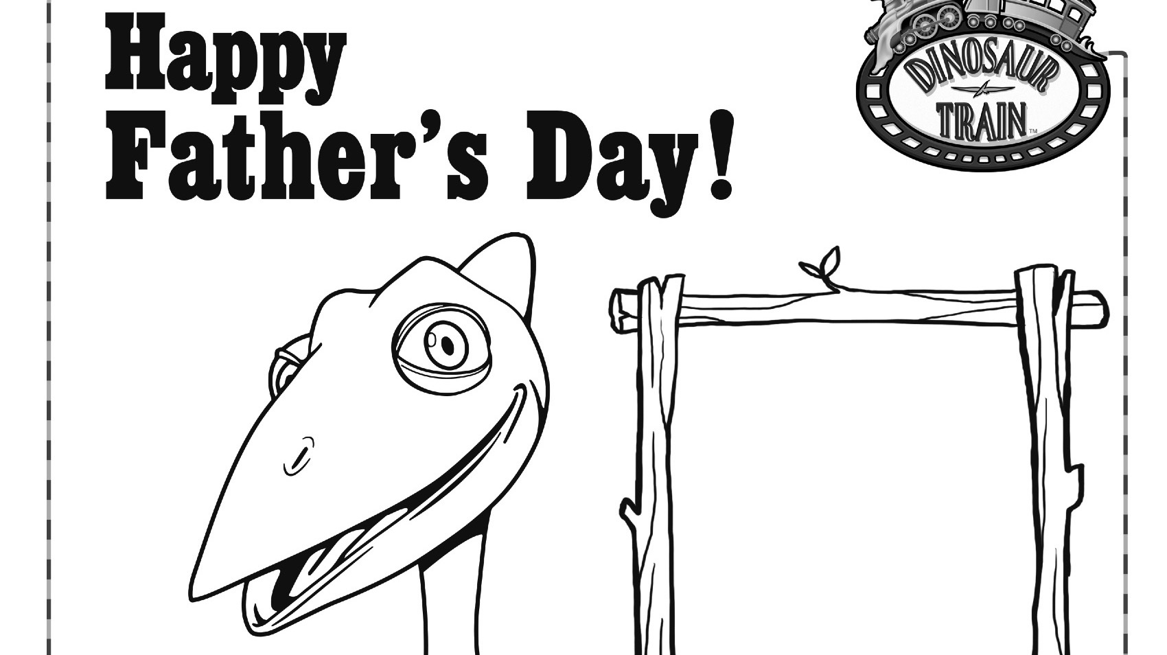 happy fathers coloring kids pbs for parents fathersday mezz wild watermelon marionette by coloring pages Happy Fathers Day Coloring Page