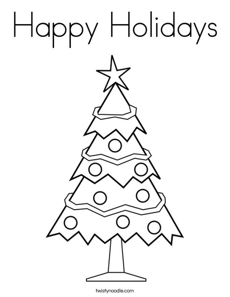 happy holidays coloring twisty noodle 468x609 q85 free printable word games pumpkin color coloring pages Happy Holidays Coloring Page