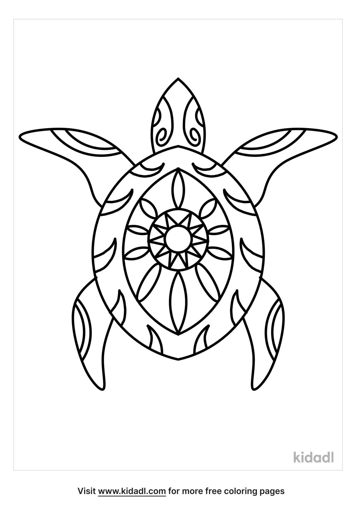 hawaiian turtle coloring free animals kidadl alapbet to numbers hands wreath fall objects coloring pages Hawaiian Coloring Page