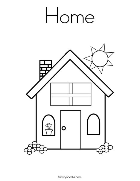 home coloring twisty noodle 468x609 q85 innovation everywhere black tempera paint coloring pages Home Coloring Page