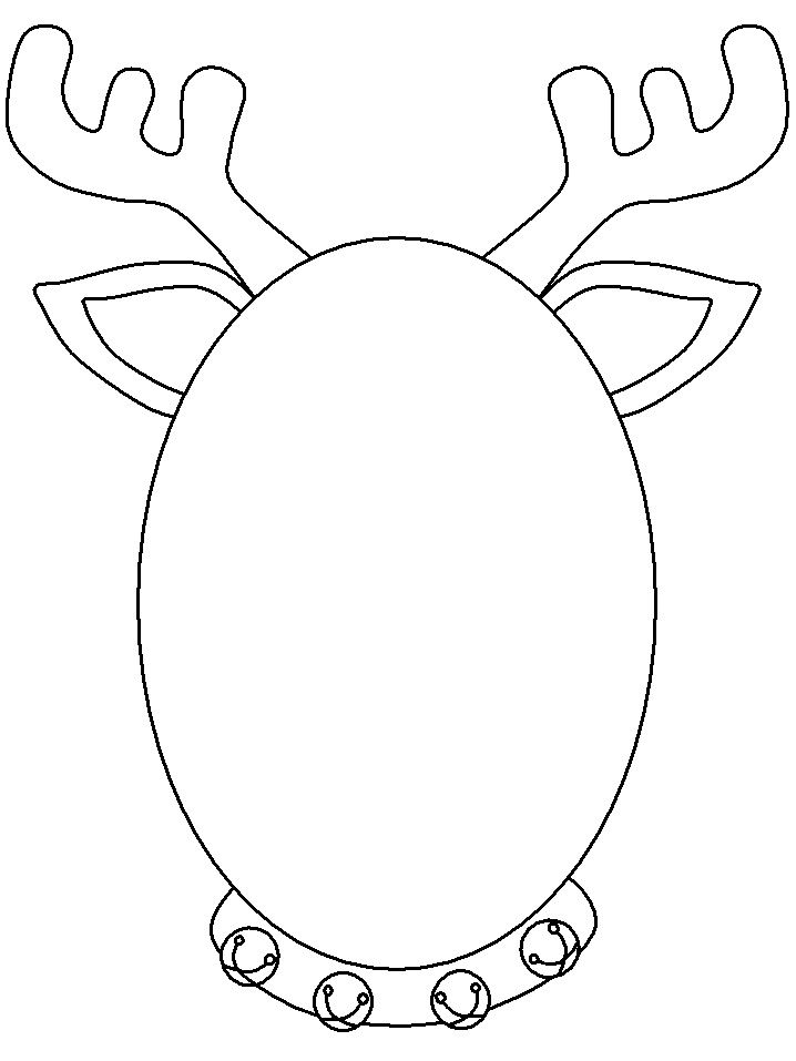 http bellowsfam details reindeer christmas projects for kids merry coloring scarecrow coloring pages Reindeer Face Coloring Page