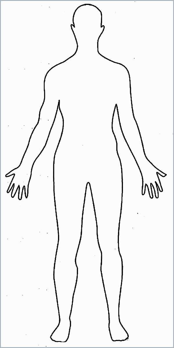 human body coloring sheets to print new basic anime drawing outline template sheet 4x6 coloring pages Body Coloring Page
