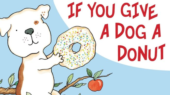 if you give dog donut ideas laura numeroff author studies book activities coloring coloring pages If You Give A Dog A Donut Coloring Page