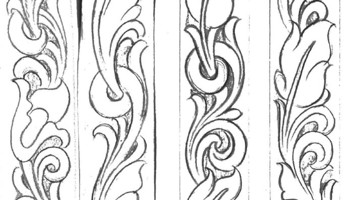 image result for printable leather tooling patterns templates free skin complexion paint coloring pages Free Printable Leather Tooling Patterns