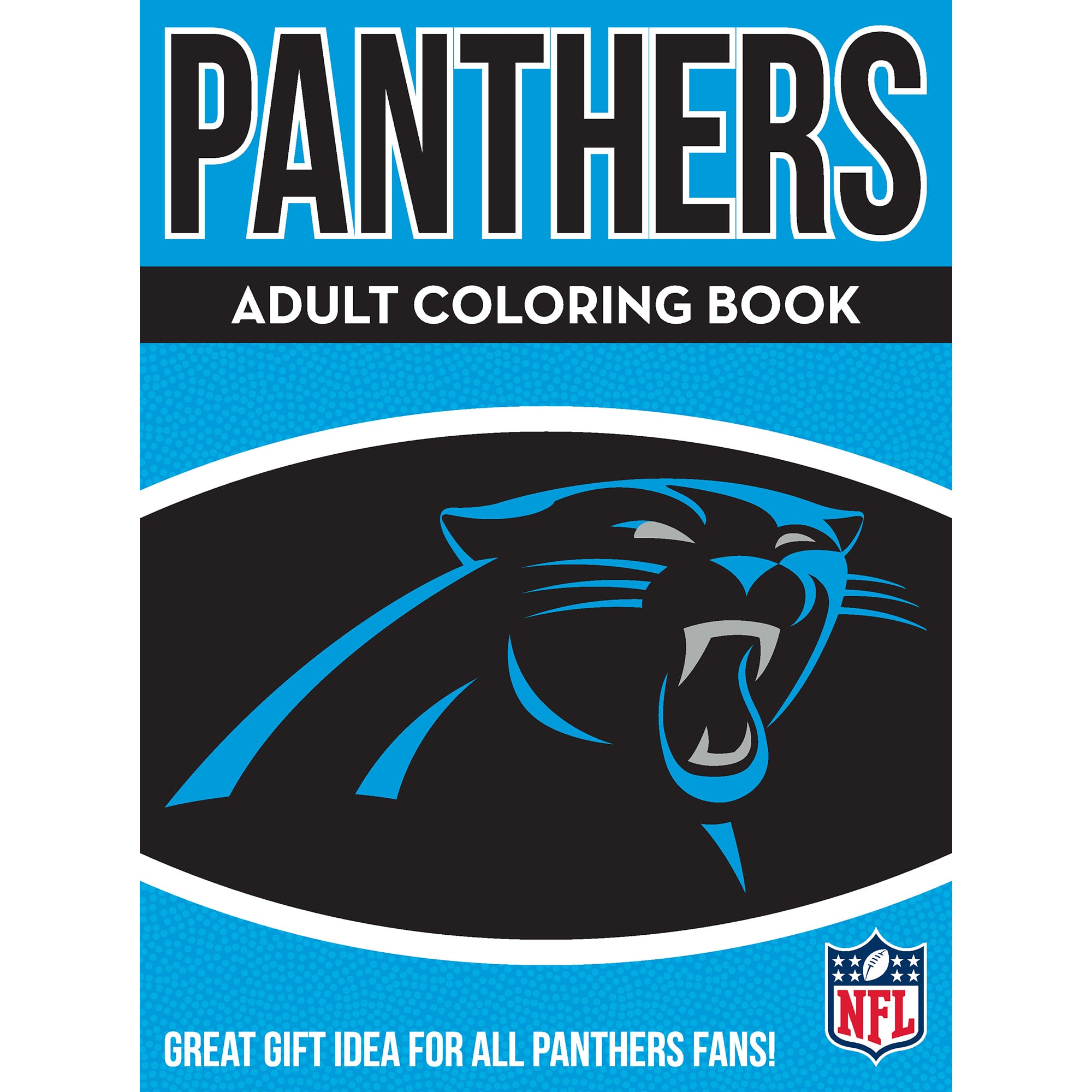 in the sports zone nfl adult coloring book carolina panthers walmart princess template coloring pages Carolina Panthers Coloring Page