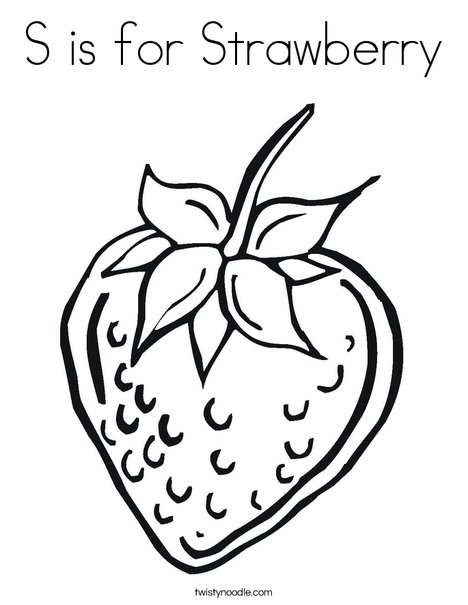is for strawberry coloring twisty noodle strawberries 468x609 q85 moroon color crayola coloring pages Strawberries Coloring Page