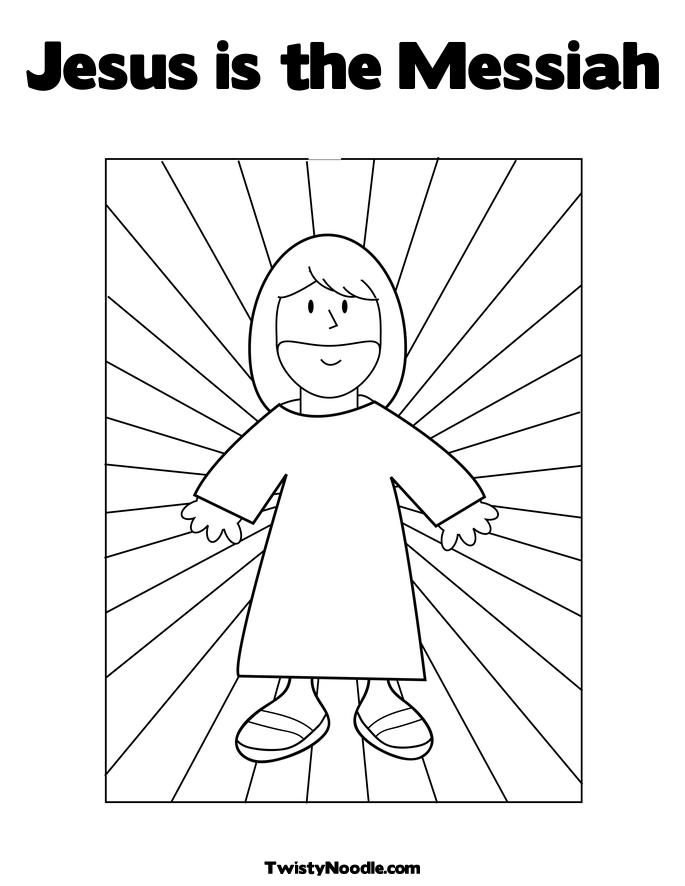 jesus is gods son coloring the messiah mickey mouse create you own sheet printable for coloring pages Jesus Is God's Son Coloring Page