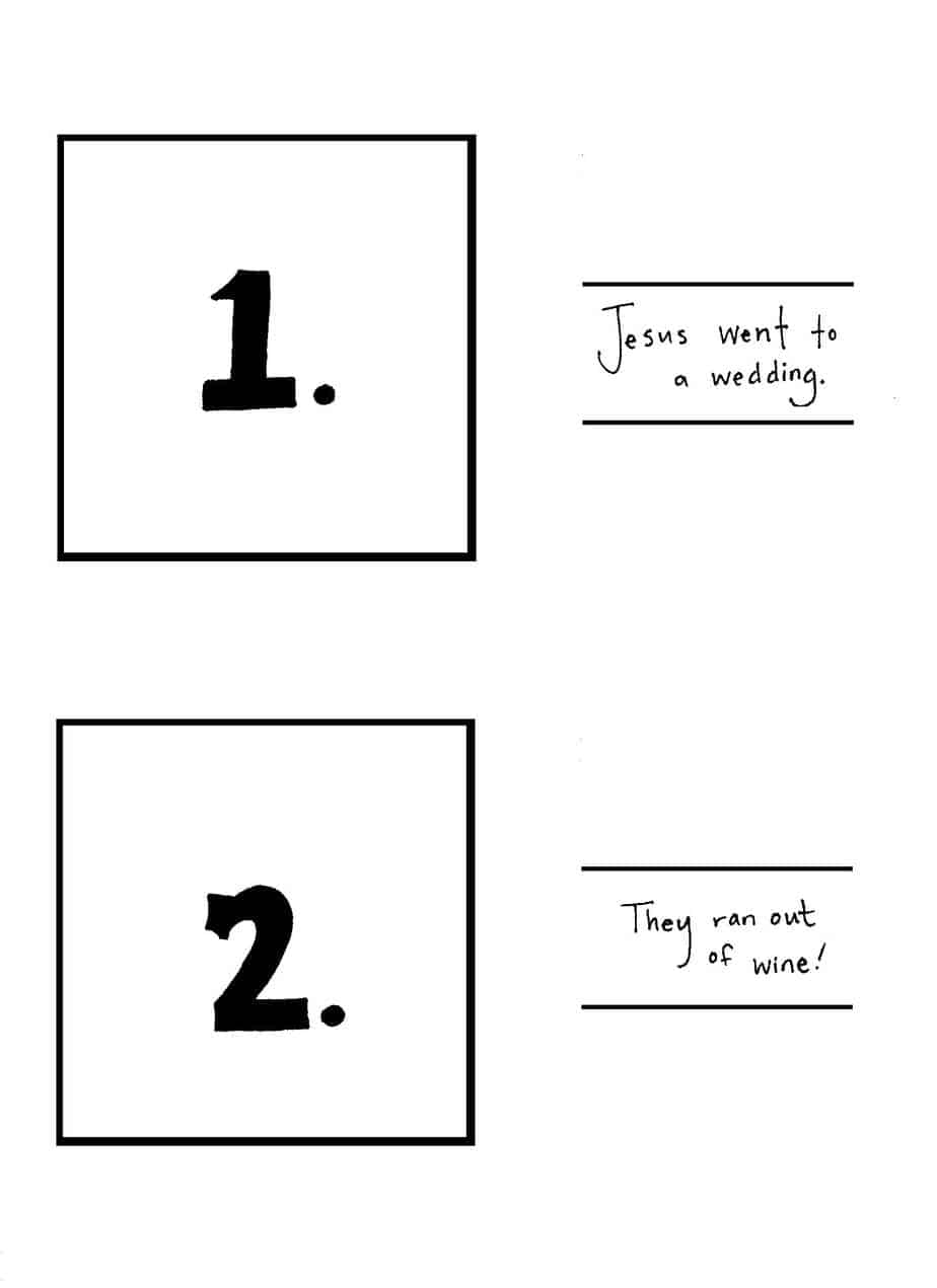 jesus turns water into wine coloring to free color unicorns tick mark postcard template coloring pages Jesus Turns Water To Wine Coloring Page