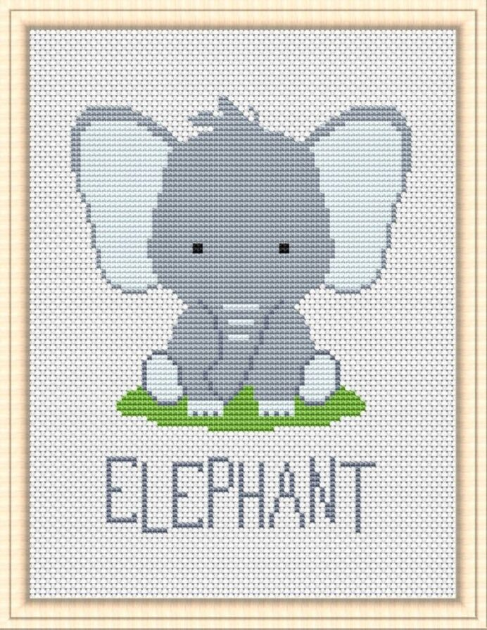 jungle friends stitch baby patterns safari nursery animals set xstitch unique gifts pdf coloring pages Baby Cross Stitch Patterns Free Printable