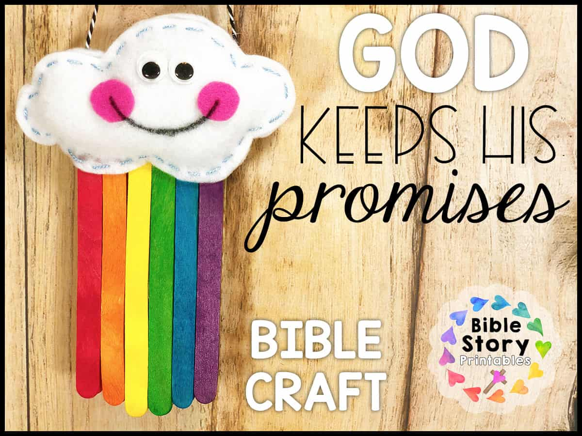 keeps his promises bible craft printables coloring godpromisescraft nemo us flag blank coloring pages God Keeps His Promises Coloring Page