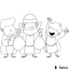 keys for kids radio streaming music and audio drama prodigal son coloring the coloring pages The Prodigal Son Coloring Page