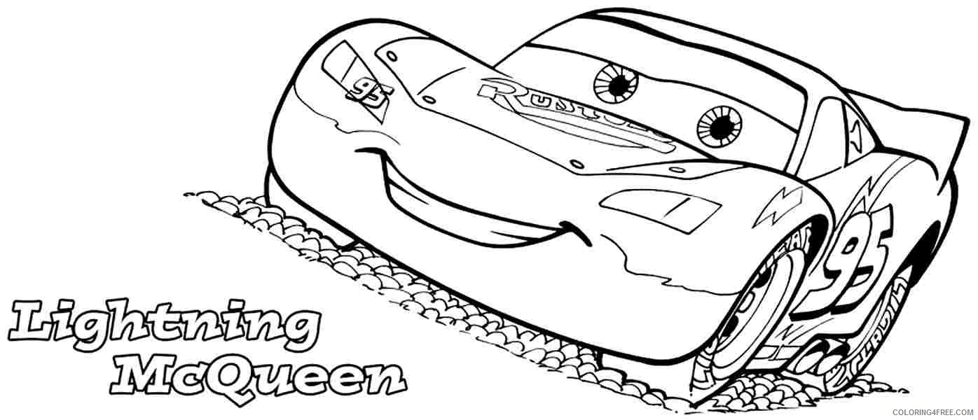 lightning mcqueen coloring printable coloring4free free building house lesson plan it coloring pages Lightning Mcqueen Coloring Page Free