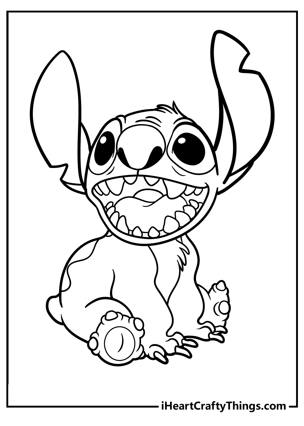 lilo stitch coloring updated lilostitch sunset oange christmas color by number fre frozen coloring pages Lilo Coloring Page