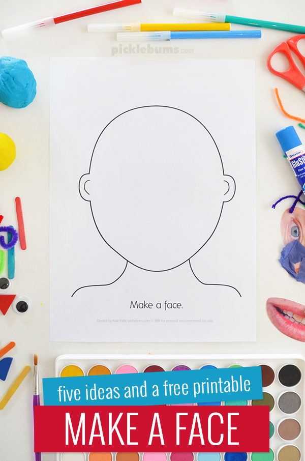 make activity five ideas and free printable picklebums eyes for crafts creative activties coloring pages Free Printable Eyes For Crafts