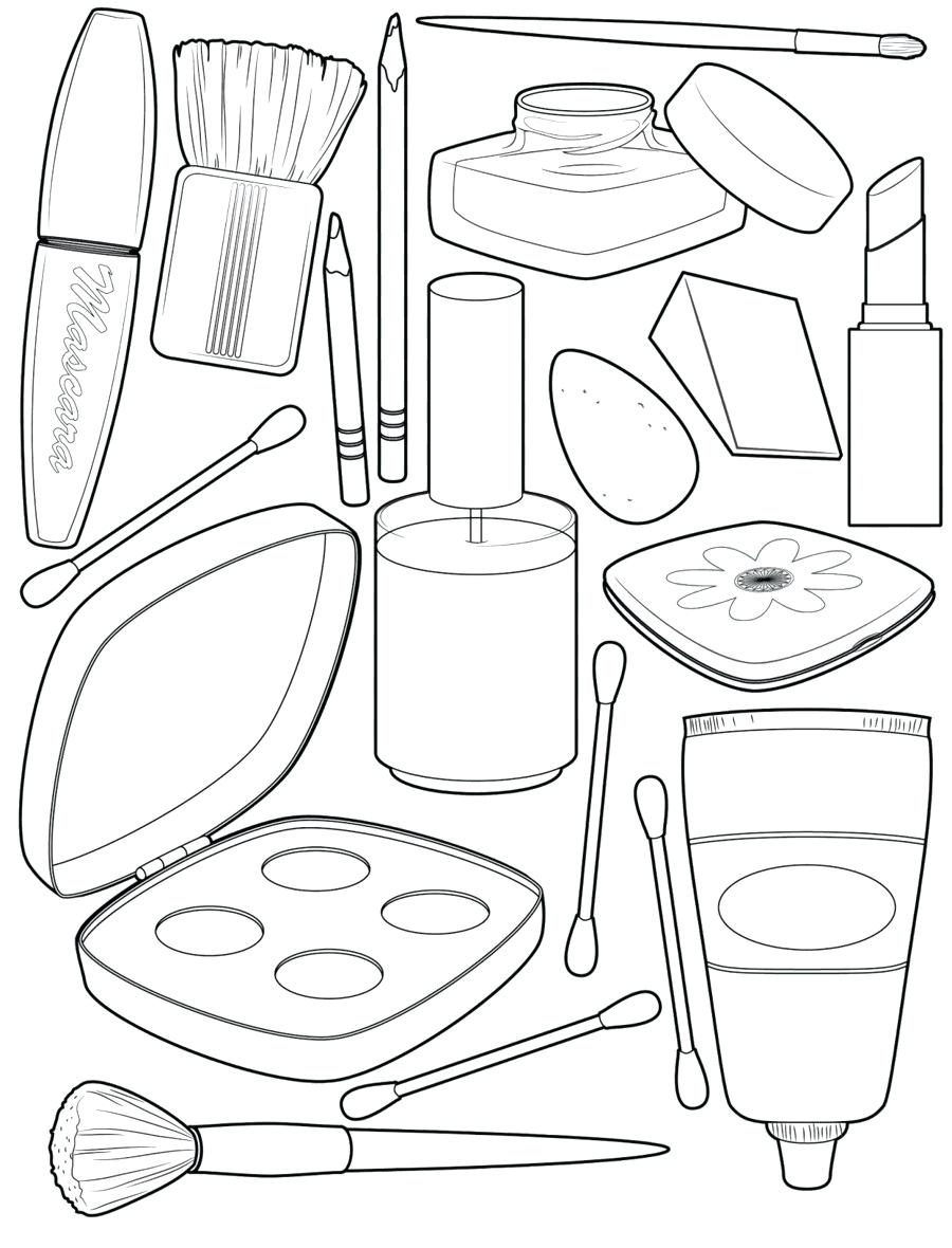 makeup coloring home nibgragmt crayola art set capital in script adult ideas letter coloring pages Makeup Coloring Page