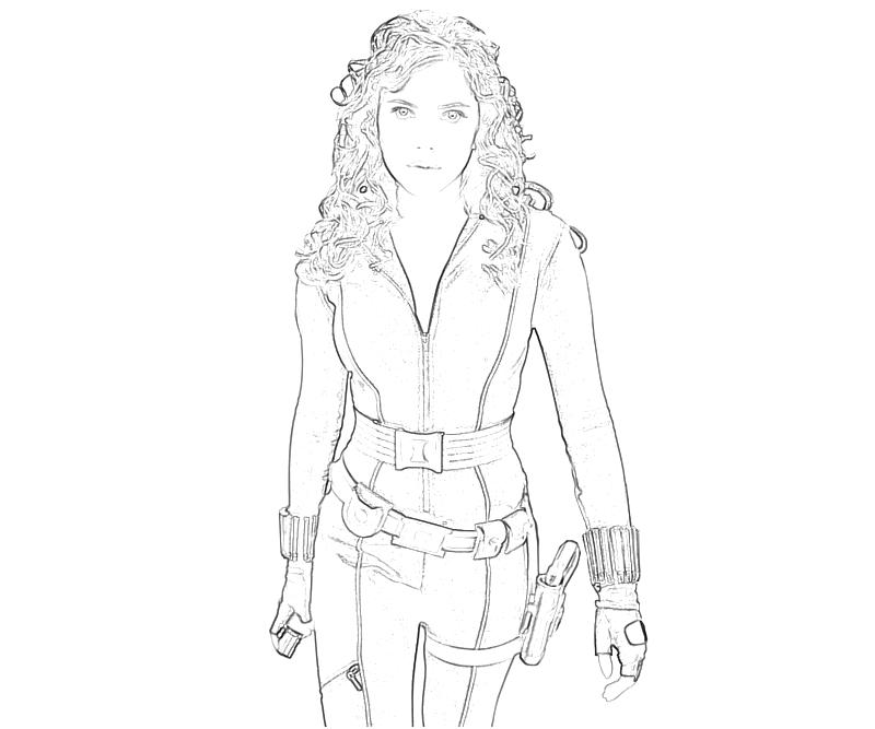 man black widow character mario coloring bw paw patrol sheets best smells in world frozen coloring pages Black Widow Coloring Page