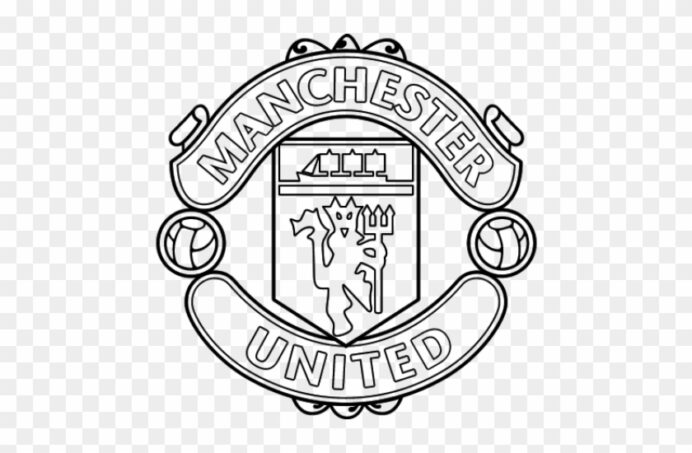 manchester logo clipart coloring hd 640x480 pngfind barcelona craft instructions best coloring pages Barcelona Logo Coloring Page