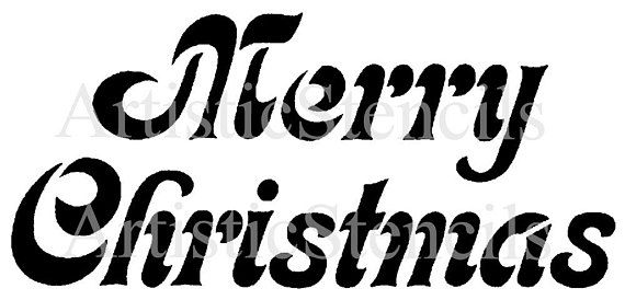 merry christmas stencil image size approx inch of material is stencils free printables coloring pages Merry Christmas Stencil Free Printable