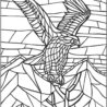 mosaic coloring pictures free printable raskrasil colorig silly sheets father to color coloring pages Mosaic Coloring Page