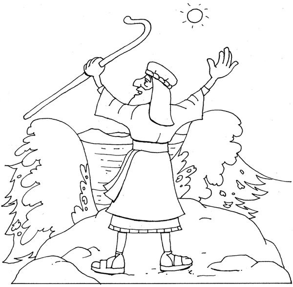 moses parting the red sea coloring posted by michelle tremblay home moana outline simple coloring pages Moses Parting The Red Sea Coloring Page