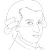 mozart stock illustrations vectors clipart dreamstime coloring realistic illustration coloring pages Mozart Coloring Page