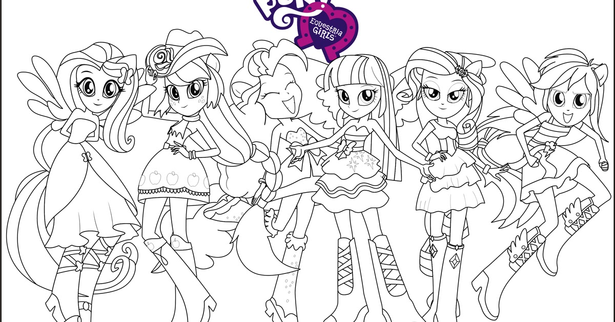 my little pony equestria girl coloring to print girls giant turtle tongue wow sketch kit coloring pages Equestria Girls Coloring Page