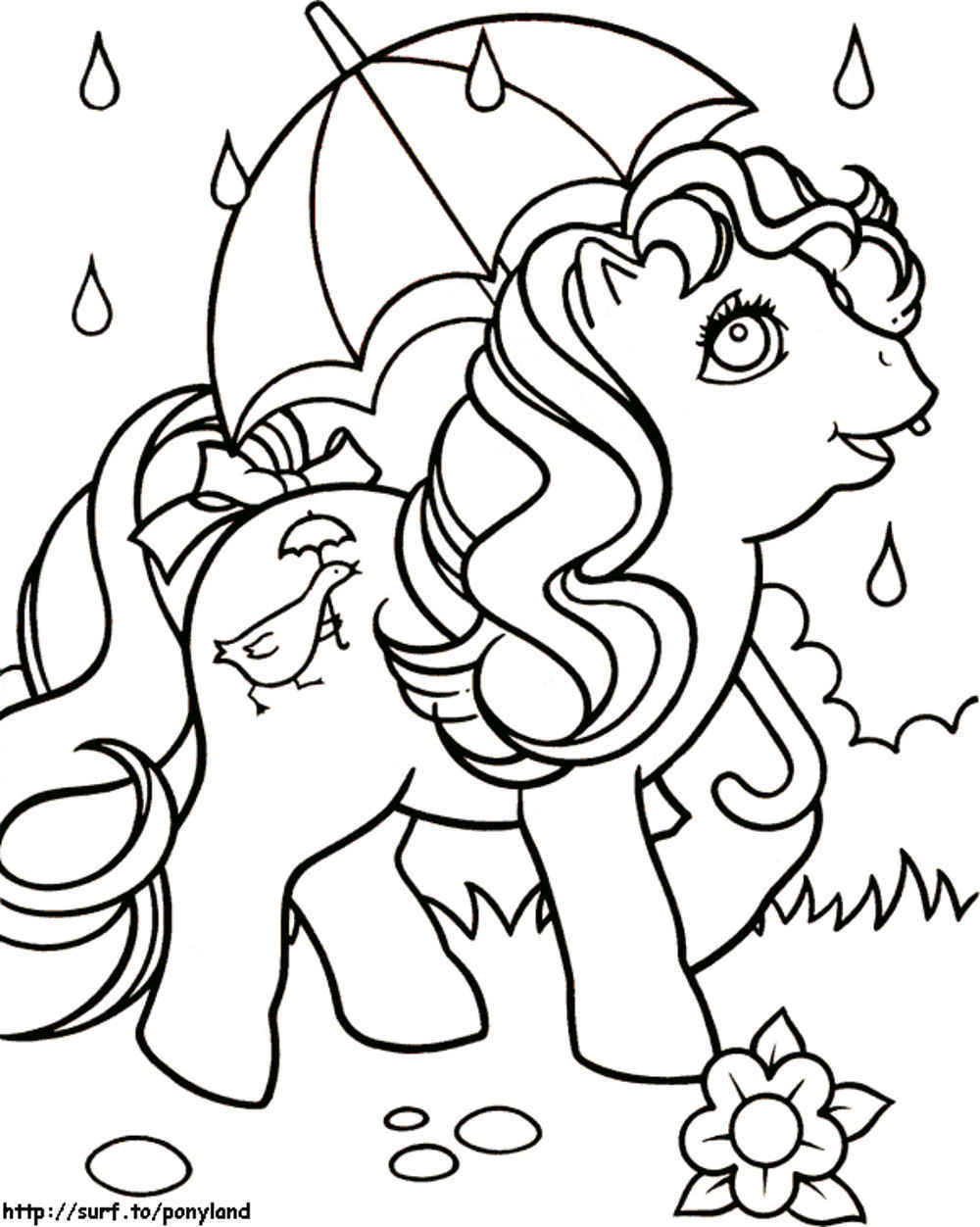 my little pony free coloring bestappsforkids dragon sheet craft pictures of snowman coloring pages My Little Pony Free Coloring Page