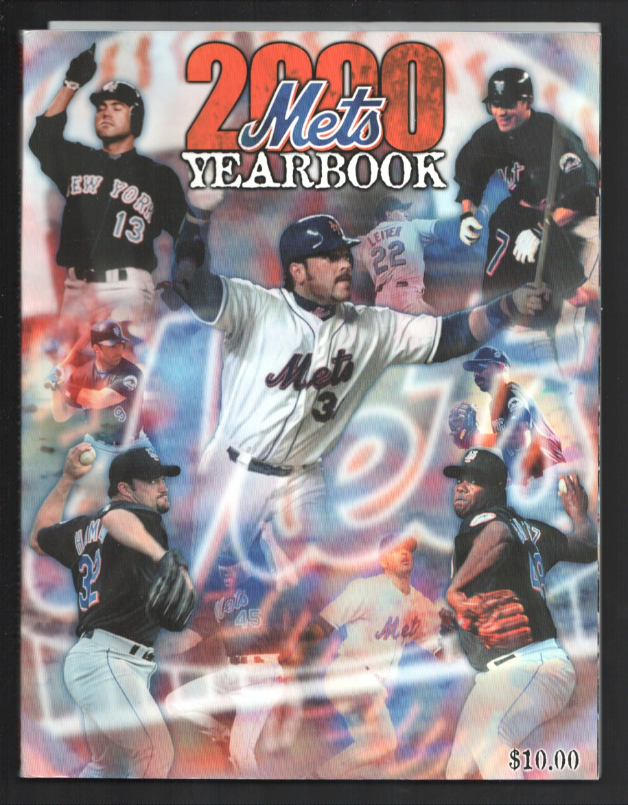 new mets baseball team yearbook mlb shea stadium player pix color vf as softcover coloring pages New York Mets Coloring Page