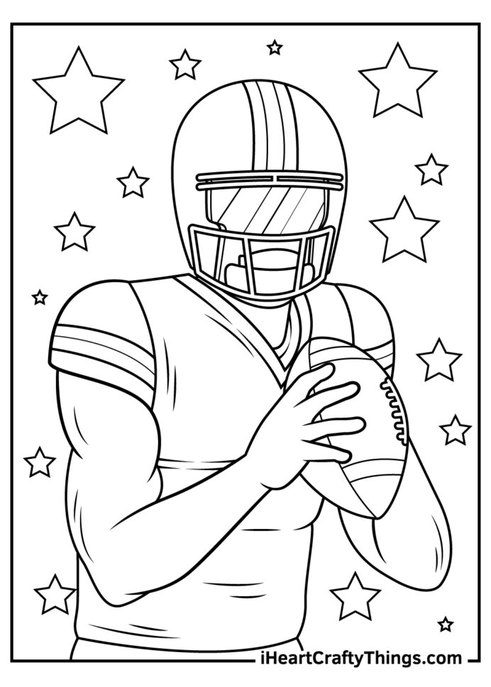 nfl coloring updated logo patriots pictures crayon box fraction cubes at home craft kits coloring pages Nfl Logo Coloring Page