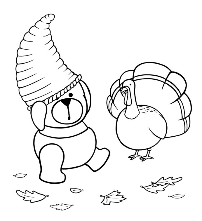november coloring best for kids free is tempera paint thick write on charm baby animals coloring pages November Coloring Page