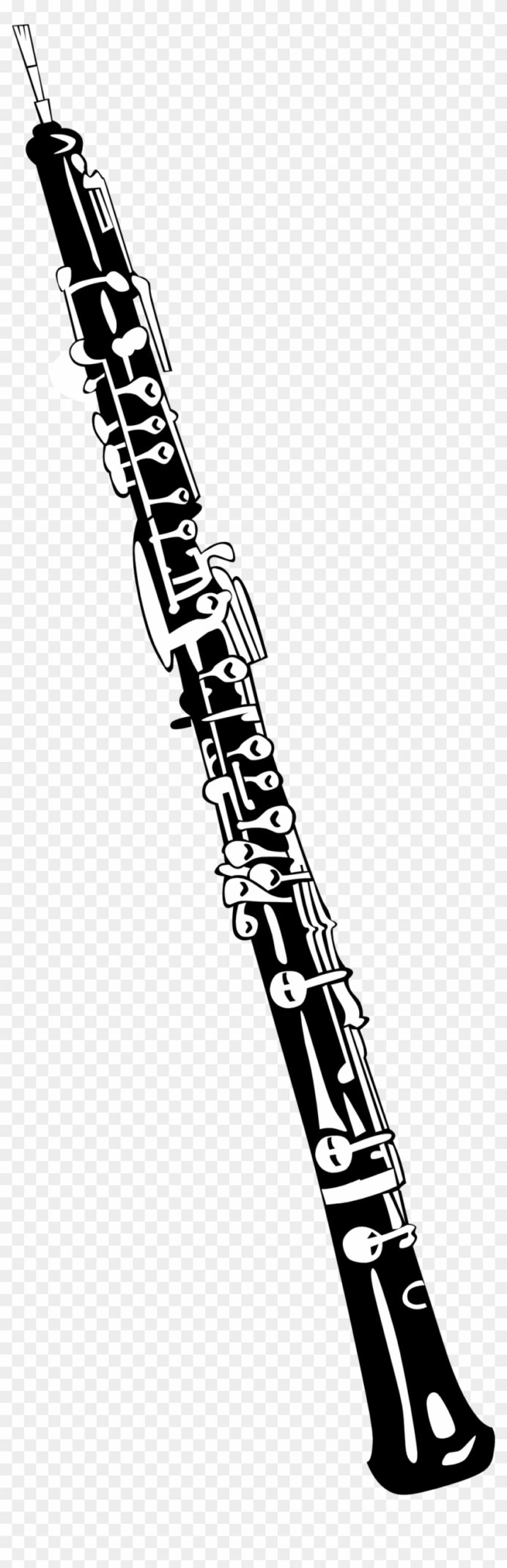 oboe clipart coloring free transparent images clarinet paint kit for kids red and blue coloring pages Clarinet Coloring Page