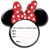 party simplicity minnie mouse ideas and free printables printable invitations invite red coloring pages Printable Minnie Mouse Invitations Free