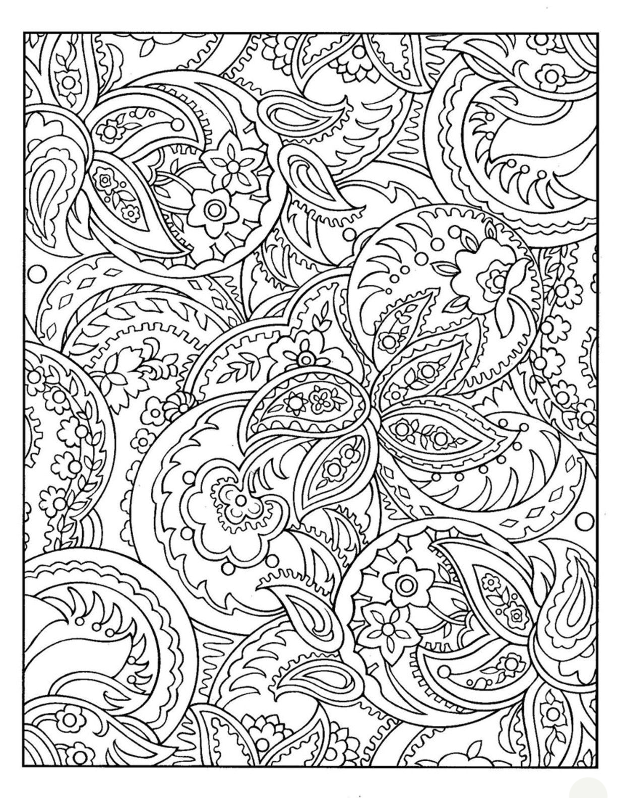 pattern coloring best for kids free complex moster jam colrs crayola caddy sparkley coloring pages Pattern Coloring Page